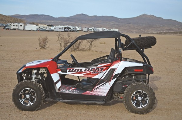 2015 Arctic CAT Wildcat Trail XT 700