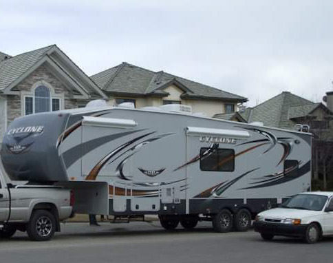 2011 Heartland Cyclone HD 3010 Toyhauler