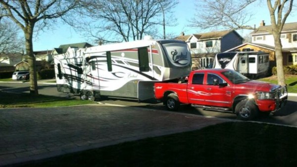 2011 Forest River Cardinal Fifthwheel / Dodge Diesel Package