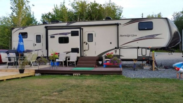 2015 Forest River Wildwood Heritage 366BH