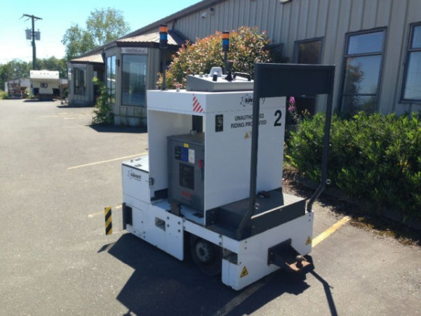 2010 AGV Savant Automated Warehouse Vehicles 50000lb Tow