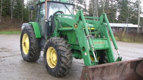 1997 John Deere 7410 Tractor