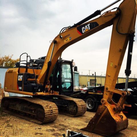 2012 Caterpillar 316E-L Excavator