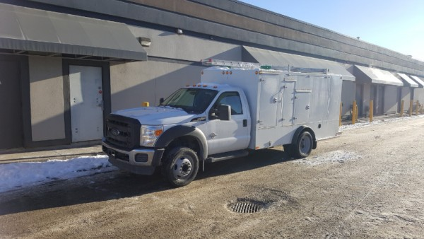 2015 Ford F-450 Furnace Cleaning Vac