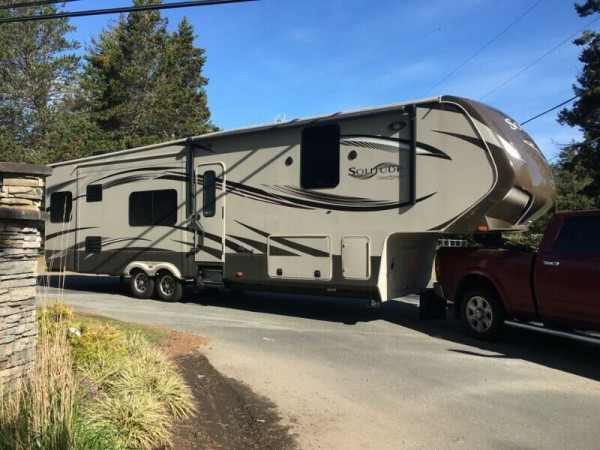 2014 Grand Design Solitude 36BRD