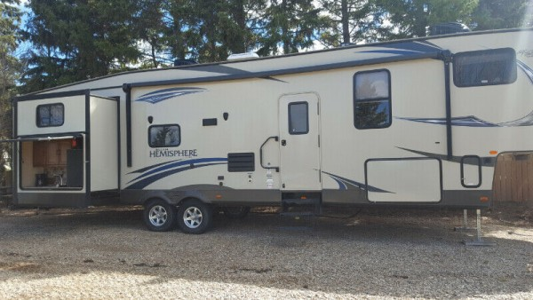 2014 Forest River Salem Hemisphere 356QBQ