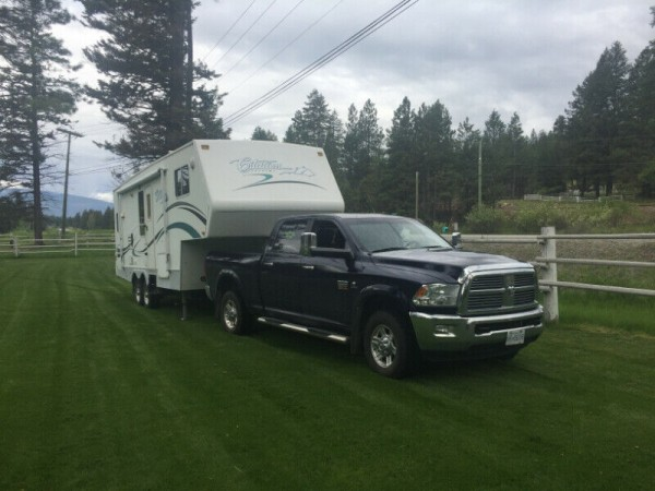 2005  Citation Supreme  + 2012 Dodge 3500 Laramie Combo