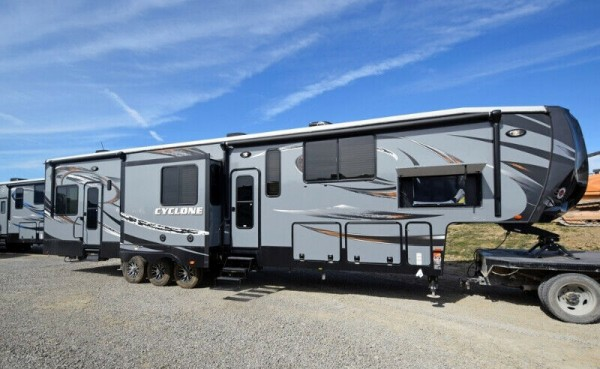2014 Heartland Cyclone HD 4150