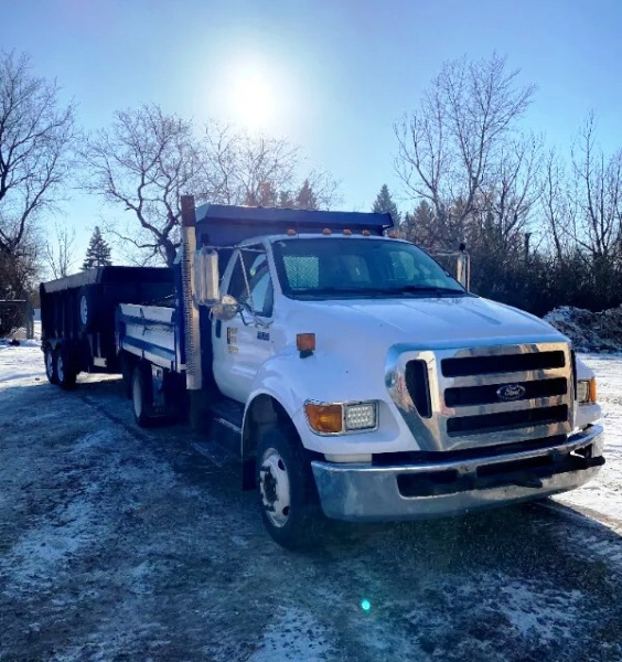 2012  Ford  F-650 Dump Deck Dually 4x4