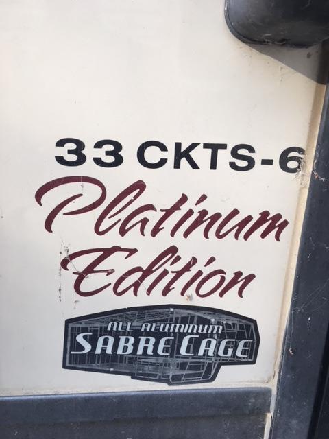 2015 Palomino Sabre 33CKTS