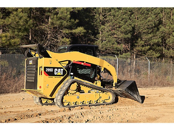 2012 Caterpillar 299D Compact Track Loader