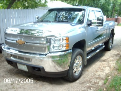 2011 Chevrolet Silverado 3500HD 4x4 Crew Cab Diesel LT