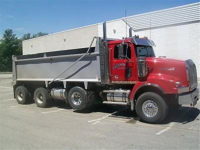 2010 Western Star Dump 4900