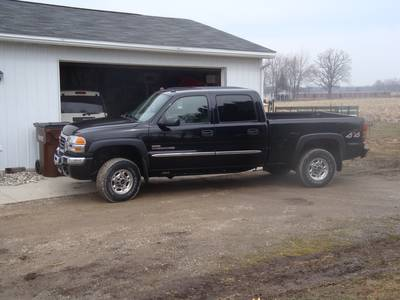 2005 GMC Sierra 2500HD Crewcab