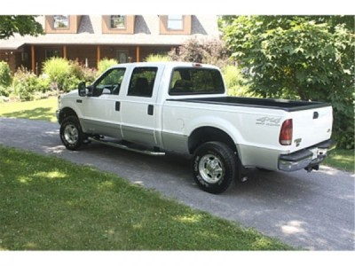 2002 Ford F-250 SD Lariat NO WINTERS