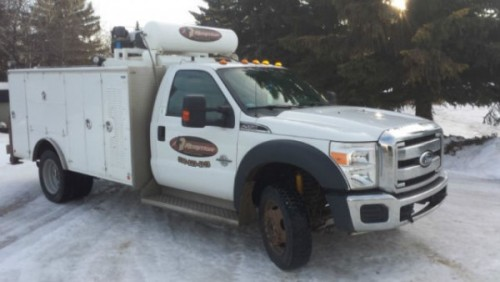 2012 Ford F-550 Service Truck