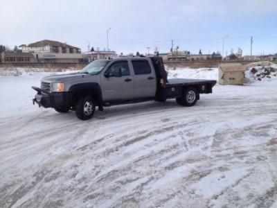 2013 GMC 3500 Flatdeck truck