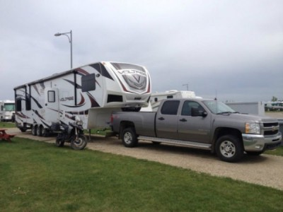 2012 Dutchmen Voltage 3950 Toy Hauler