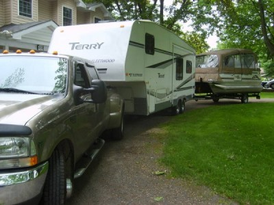 2006 Terry 29.5 5th Wheel
