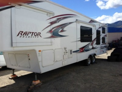 2009 Keystone Raptor 300MP Toy Hauler