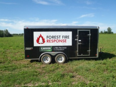 2015 Haulmark Fire Control Trailer 16Ft