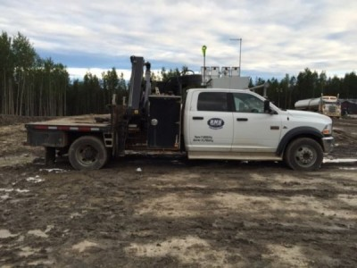 2011 Dodge 3500 Crew Picker Truck