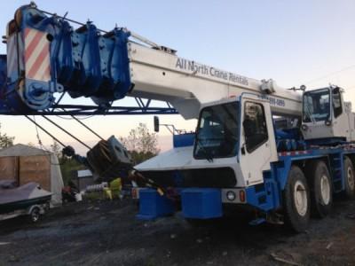 1985 Krupp 60 GMT 73 Ton Crane