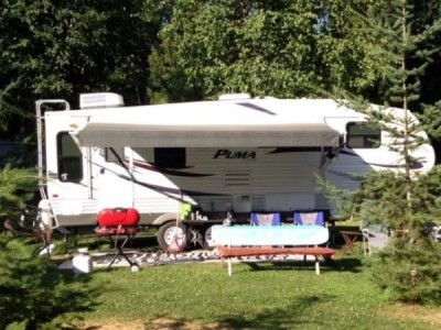 2010 Forest River Puma 27Ft