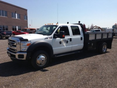 2014 Ford F-550 Crew Cab