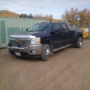 2011 Chevrolet Silverado 3500 Dually
