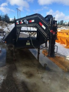 2010 Loadmax Gooseneck Equipment Trailer