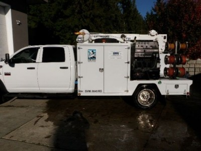 2012 Dodge 5500 Custom Welding/Mechanics Body