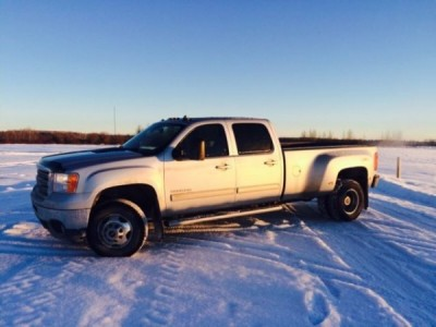 2013 GMC Sierra 3500HD SLT Dually