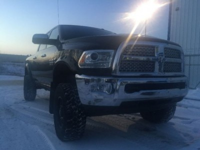 2013 Dodge Ram 3500 Laramie Lifted