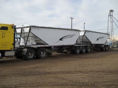 2008 Deopkers Super B Grain Trailers