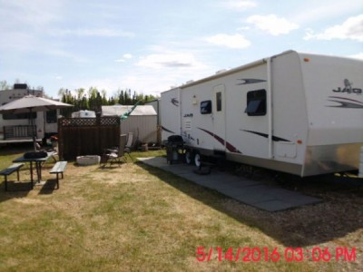 2007 K-Z Kag 34Ft Trailer + Lake Lot Combo