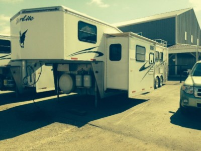 2008 Silverlite Spirit III 4 Horse Trailer with Living Quarter