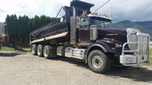 2007 Western Star Tri-Drive Gravel Truck