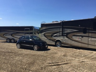 2014 Thor Palazzo + Fiat + Trailer Combo