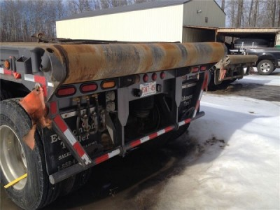 2014 Doepker 53-ft Oilfield Float Trailer.