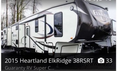 2015 Heartland Elkridge 38RSRT