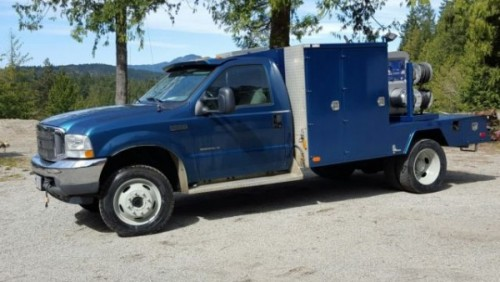 2002 Ford F550 Welding Truck