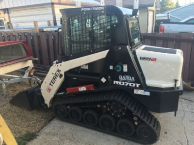 2015 Terex Posi- Track R070T 2nd Generation Skid Steer