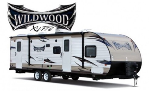 2014 Forest River Wildwood 262BHXL Extra light