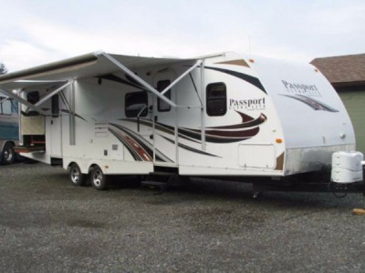 2013 Keystone Passport 320BHWE