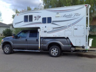 2014 Artic Fox 811 Camper + F-350 Truck Combo