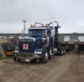 2007 Kenworth T800 565 iSX Logging Truck