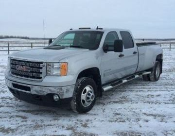 2013 GMC Sierra 3500 SLE Dually