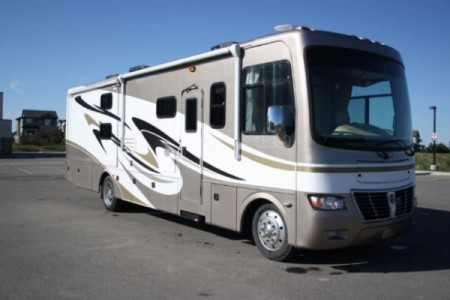2012 Holiday Rambler Vacationer 34SBD