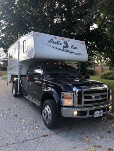 2010 Artic Fox 1150 + 2008 Ford F-450 Truck